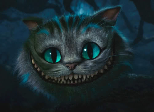 Tim Burton cheshire cat