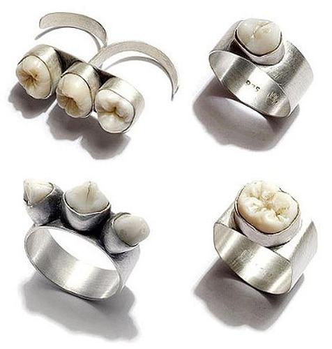 rings made of teeth