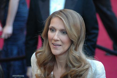 Celine Dion's smile
