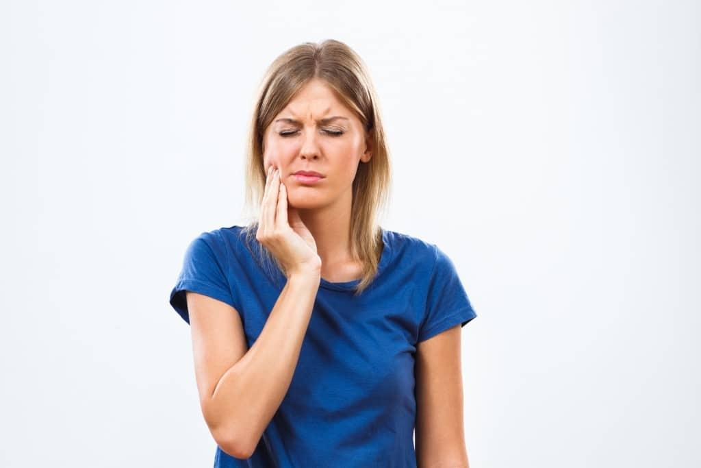 Woman with a Dental Emergency