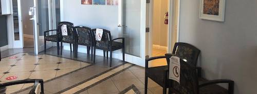 social distancing measures at the dentist office during COVID-19